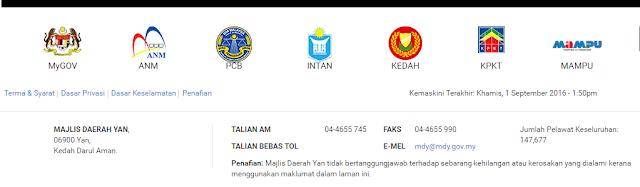 Rasmi - Jawatan Kosong (MDY) Majlis Daerah Yan 2019