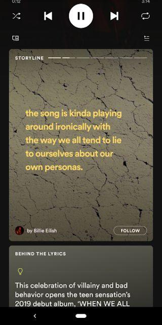 Spotify Storyline - Fitur Baru Mirip Instagram