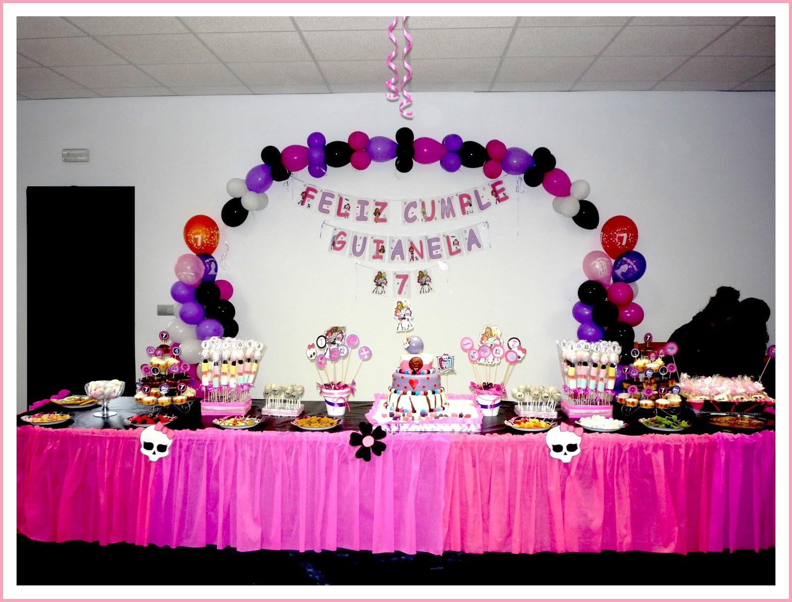 Baby Nina Fiestas: Fiesta Monster High para Guianela