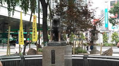 Hachiko Statue 2017