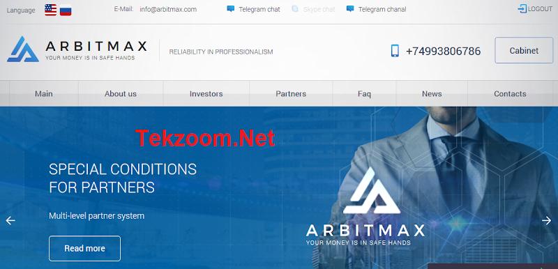 [SCAM] Review Arbitmax - Lãi từ 5% sau mỗi 4 ngày - Hoàn vốn đầu tư - Thanh toán Manual