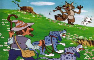 Fábula: El lobo flautista y el cordero