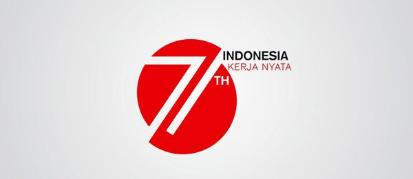 vector Logo HUT Kemerdekaan Indonesia ke 71 - 2016 cdr