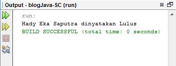 Operator Kondisi Pada Java