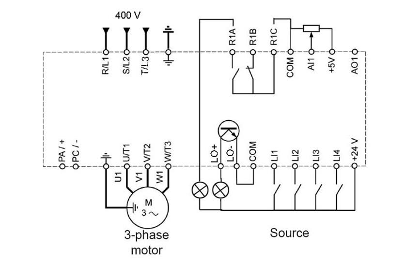 Hướng dẫn cài đặt và đấu nối biến tần Schneider dòng ALTIVAR310-ATV310