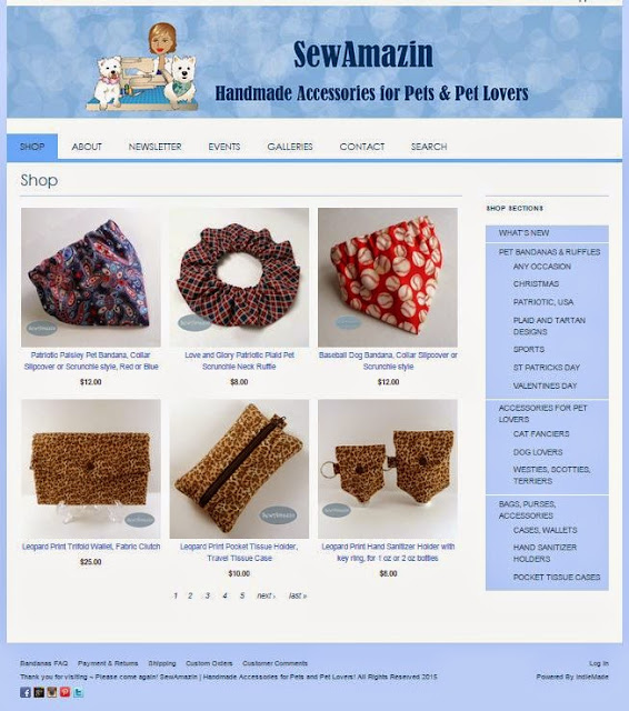 SewAmazin on Indiemade