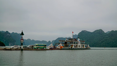 Stopped for a while at Cat Ba island before heading back to Bai Chay