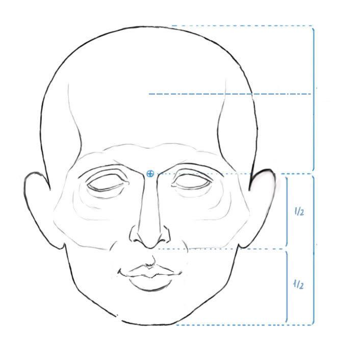 Excepcional Desenhe Tudo: Cabeça e Face NU47