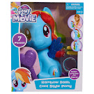 My Little Pony Cool Style Pony Rainbow Dash Figure by HTI