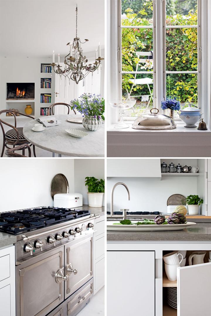 Lovely White Kitchen ♥ Прекрасна бяла кухня