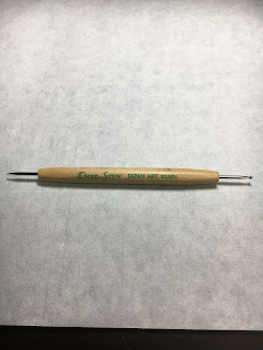 切り絵修復に使っているマイエンボスペン