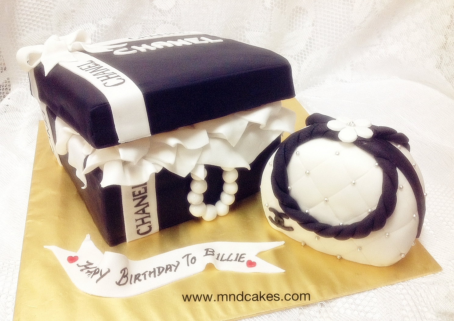 3D Chanel Cakes For Girls Birthday