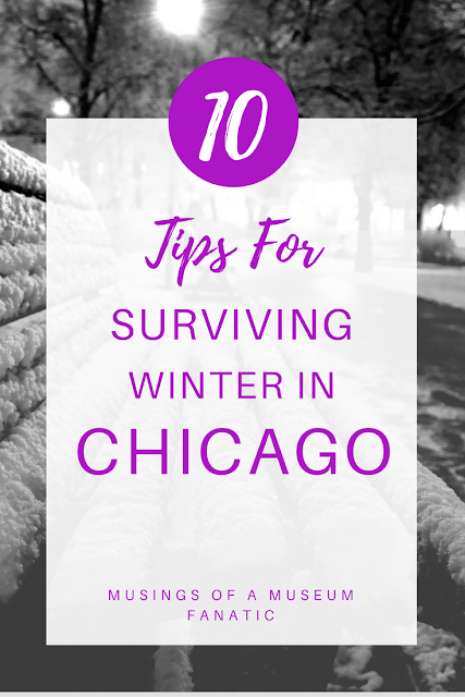When you living in Chicago winter can be pretty rough. I've got 10 tips to help you survive a Chicago winter, should you choose to accept the challenge. Musings of a Museum Fanatic