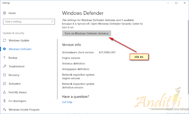 Cara Mengaktifkan Fitur Anti Ransomware di Windows 10-anditii.web.id