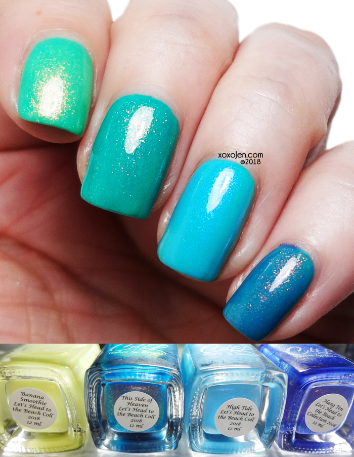 xoxoJen's swatch of Colors By Llarowe Azure Thing