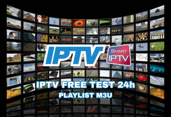 IPTV FREE TRIAL TEST 24h