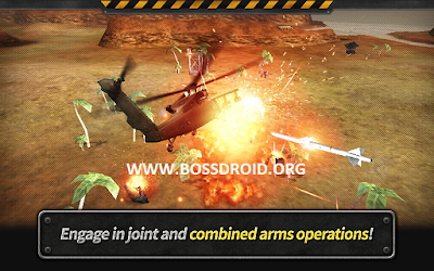 Gunship Battle: Helicopter 3D Mod Apk + Data v2.4.60 Full Version
