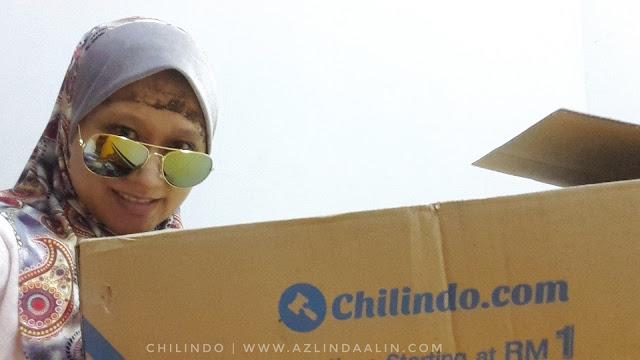 YEAY..BARANG BID DI CHILINDO DAH SAMPAI