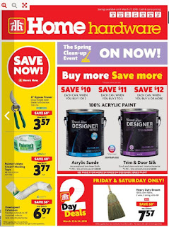 Home Hardware Weekly Flyer March 21 – 27, 2018