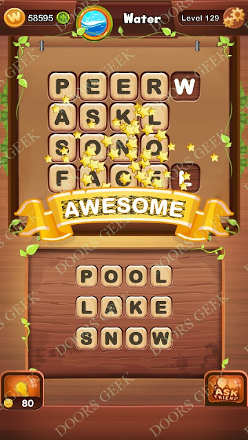 Word Bright Level 129 Answers, Cheats, Solutions, Walkthrough for android, iphone, ipad and ipod