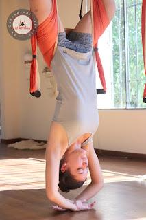 columpio yoga , trapecio trapeze