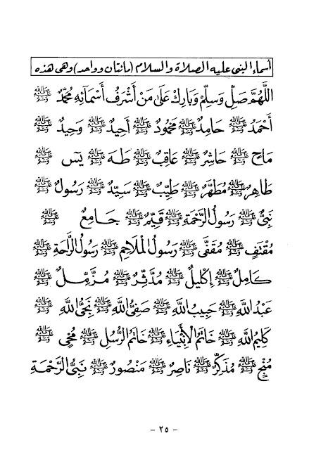 Mengenal Nama-nama Baginda Nabi Muhammad saw.