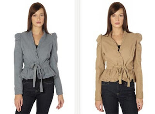Chaquetas modelo Canvas de Manoush
