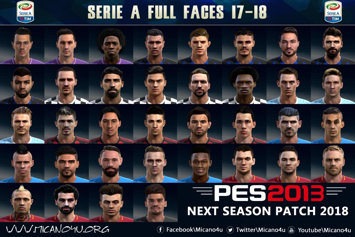Pes 2013 next season patch 2017 2018