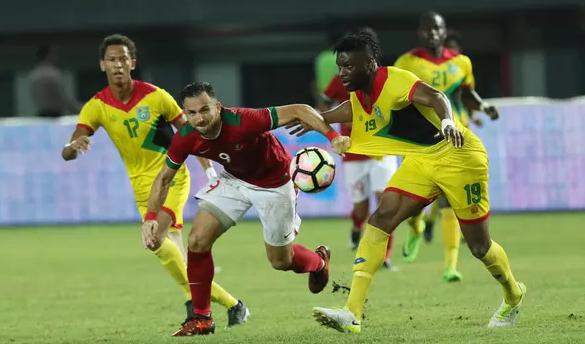 AGEN BOLA - Indonesia kalahkan Gunaya, Spaso Cetak 2 Gol