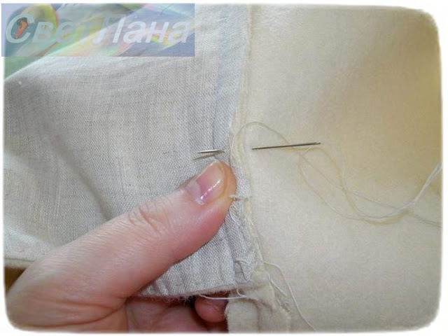 шитье вручную