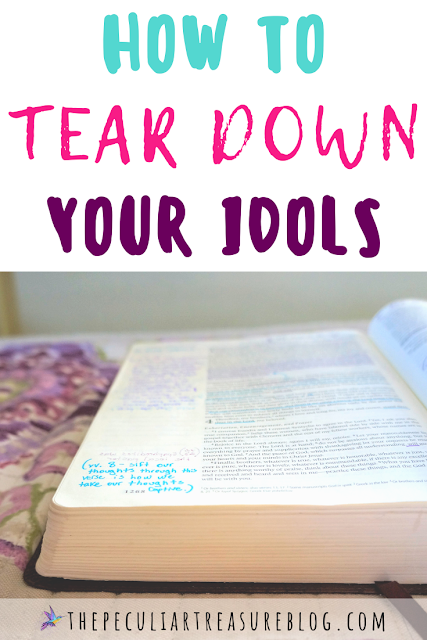 How to tear down your idols.