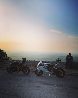Cherohala Skyway with Ducati Bimota and MV Agusta Motorcycles