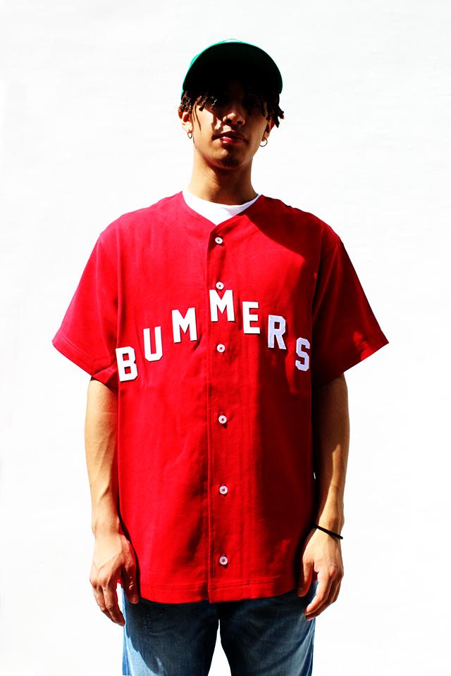 80732d8e0fb3 RIGHT - GOLF WANG - BUMMERS BASEBALL CAP - RED. RENZO 164cm. GOLF WANG - BASEBALL  SHIRT ...