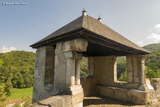 Torrecilla de la Muralla de Saint Bertrand de Comminges, por El Guisante Verde Project