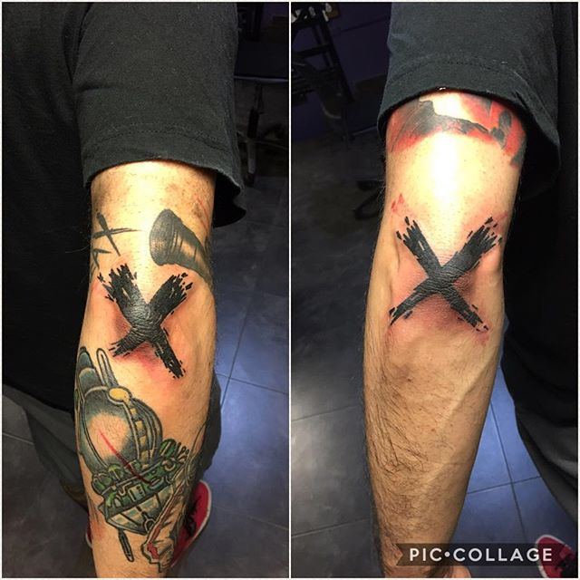 X Tattoo Design Ideas For Men