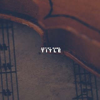 Stunning, elegant album artwork design with vintage look and feel. Perfect for instrumentalist, orchestra or other classical performers - Exclusive cover design with unlimited distribution and royalty free pictures/backgrounds