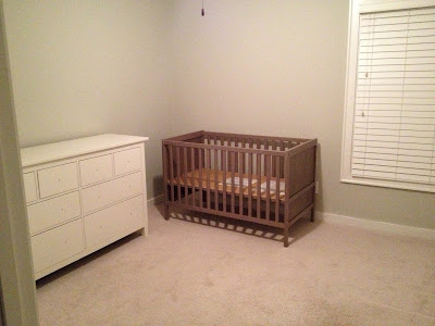 ikea dresser and crib