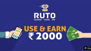Ruto App : Refer & Earn 11 rs paytm cash per referral