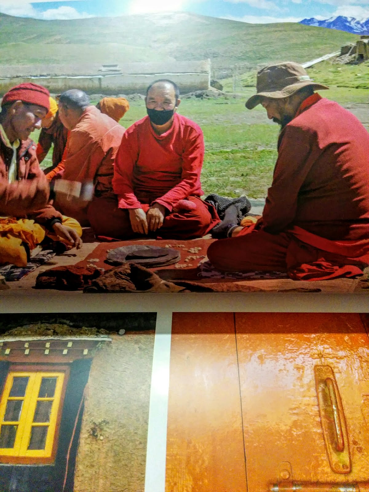 The rich colors of Spiti Valley
