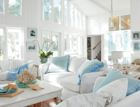Slipcovered Furniture Sofas Chairs For Easy Coastal Style