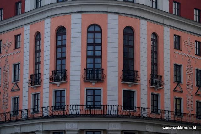 Warszawa Warsaw ulica Powiśle kamienica architektura zabudowa Ateneum teatr