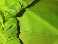 Gummiband: Regenschutz für Rucksäcke Rucksackschutz Ranzen Regenschutz Rucksackcover Regenüberzug Neon Sicherheitsüberzug Reflektorüberzug