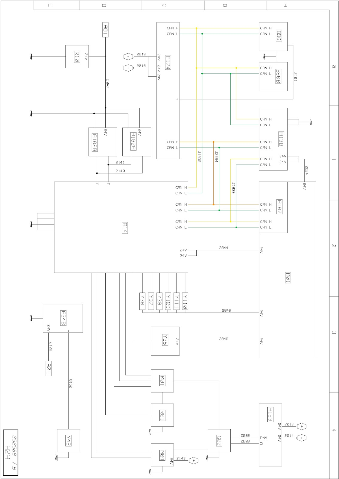 Euro Vi Engine Management Wiring Diagrams Renault Trucks T A14 Ecu Cc3 Cc4 Ccg Cch A34b Air Conditioning Gbp A163 Central Chassis Area Information Cciom Bah Cdu