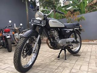Dijual Motor Lawas Honda CG Masih Bisa Ngacir