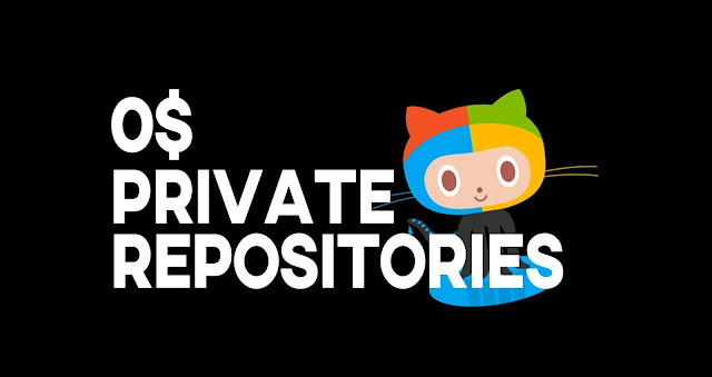 GitHub unlimited private repositories for free users now