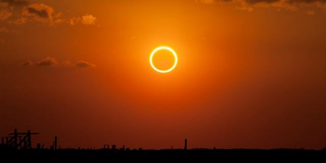 Tata Cara Dan Niat Shalat Gerhana Matahari Dan Gerhana Bulan
