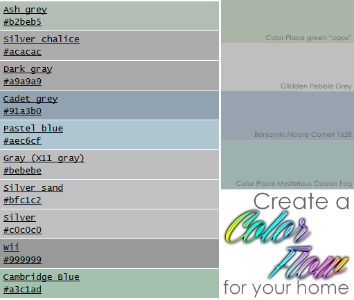 Little Cape Cod Create A Color Flow For Your Home