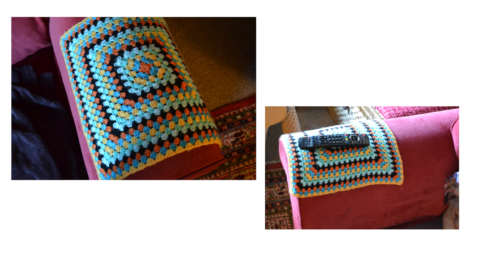 Crochet Sofa Arm Covers Brand Names Primroses And Petticoats Granny Square Caps
