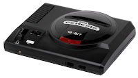 Imagen de la videoconsola americana de Sega : SEGA GENESIS de 16 Bits