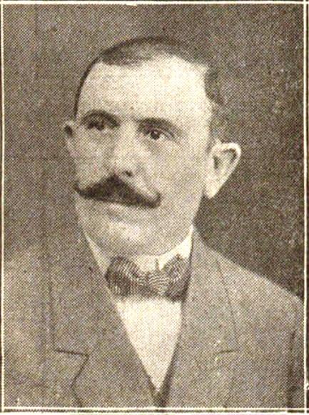 Teodomiro Menéndez Fernández (Oviedo, 1879-Madrid, 1978). Fotografía publicada en 1918
